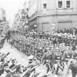Germans Enter the Sudetenland