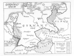 German Expansion by 1938