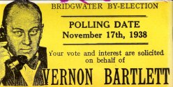 Vernon Bartlett By-election